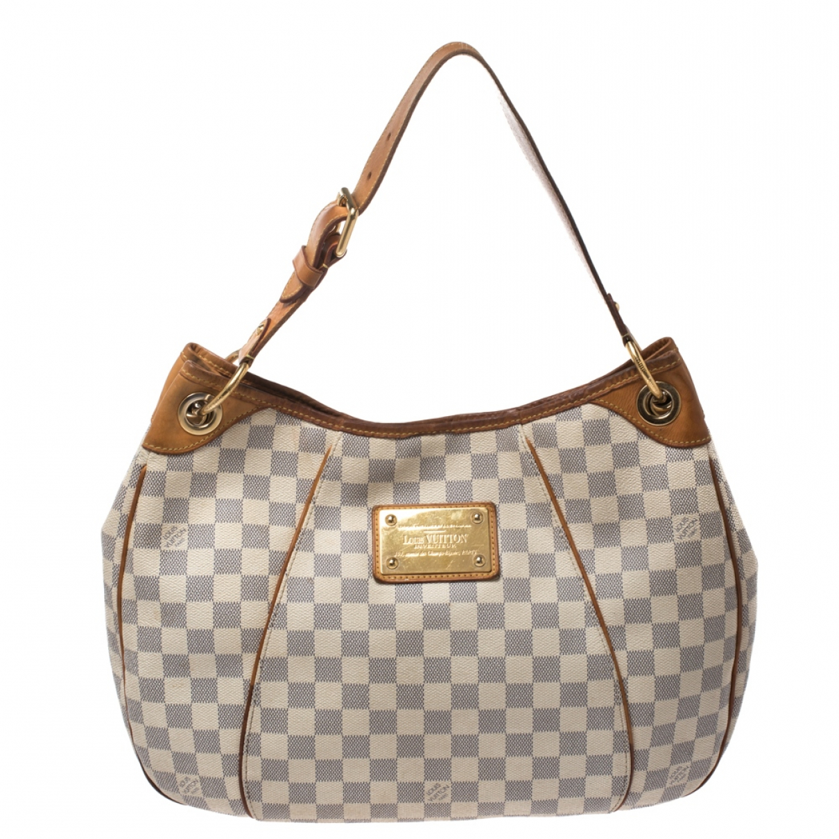 Louis Vuitton Galliera Beige Leather handbag for Women N