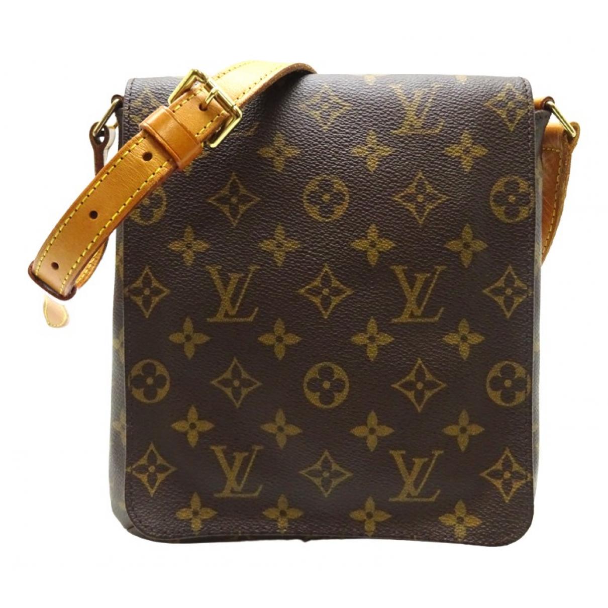 Louis Vuitton Salsa Brown Cloth handbag for Women N