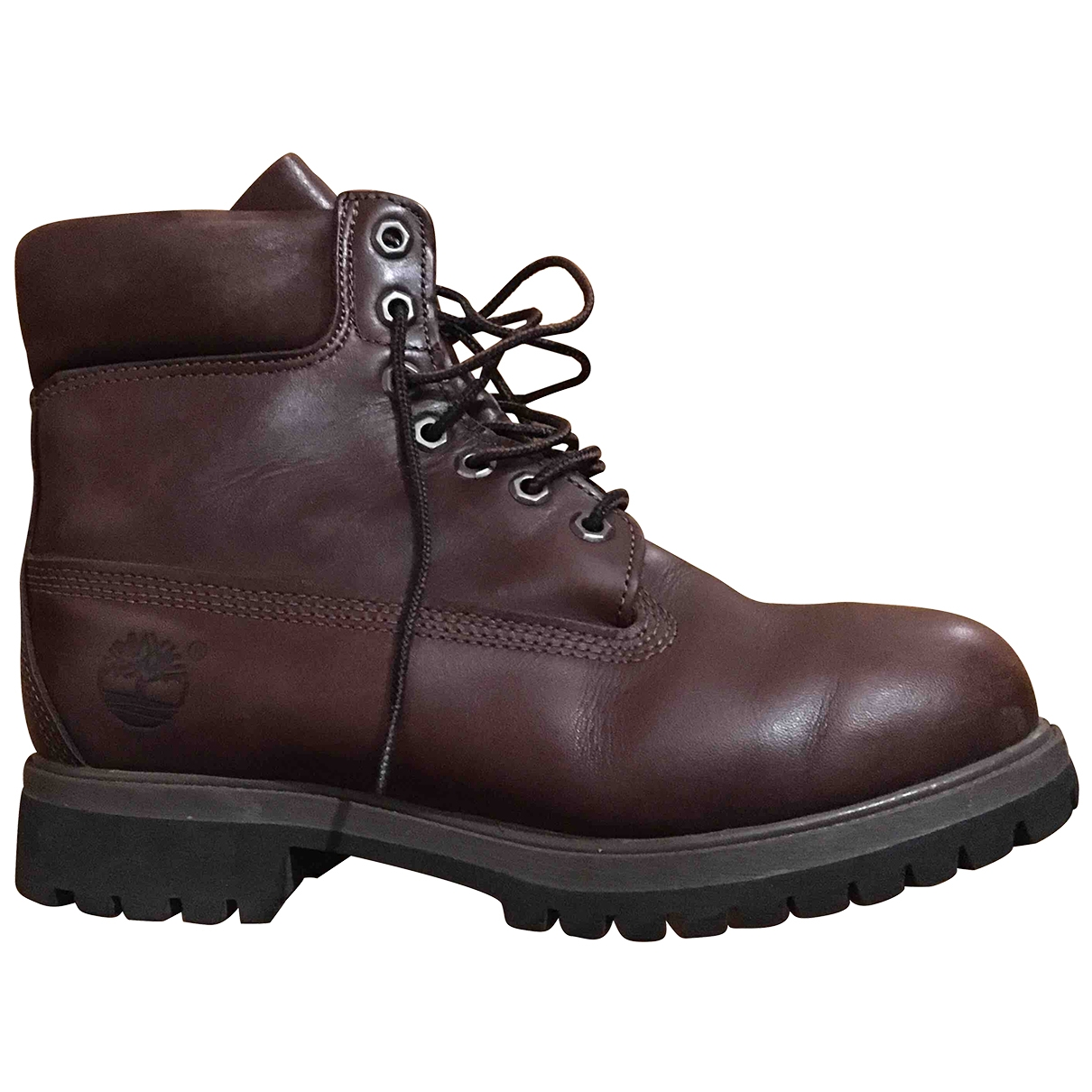 Timberland \N Brown Leather Boots for Men 41 EU