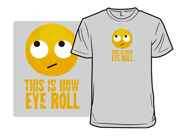Emoji Roll T Shirt