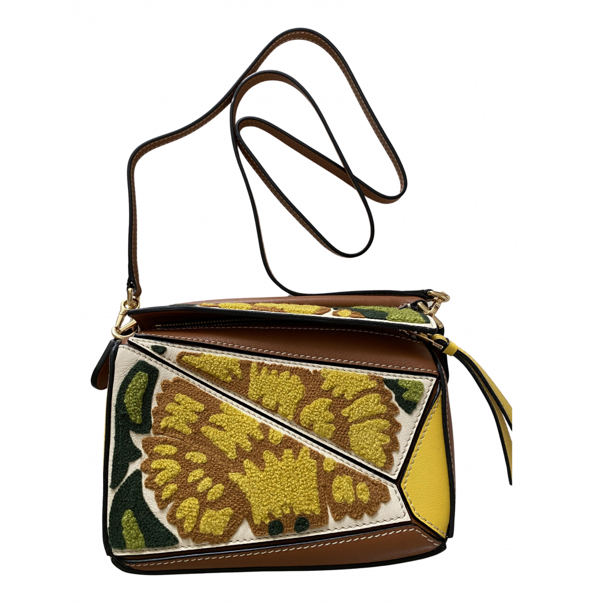 Loewe Puzzle  Multicolour Leather handbag for Women N
