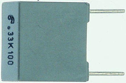 Panasonic 1.5μF Polyester Capacitor PET 275V ac ±20% (25)