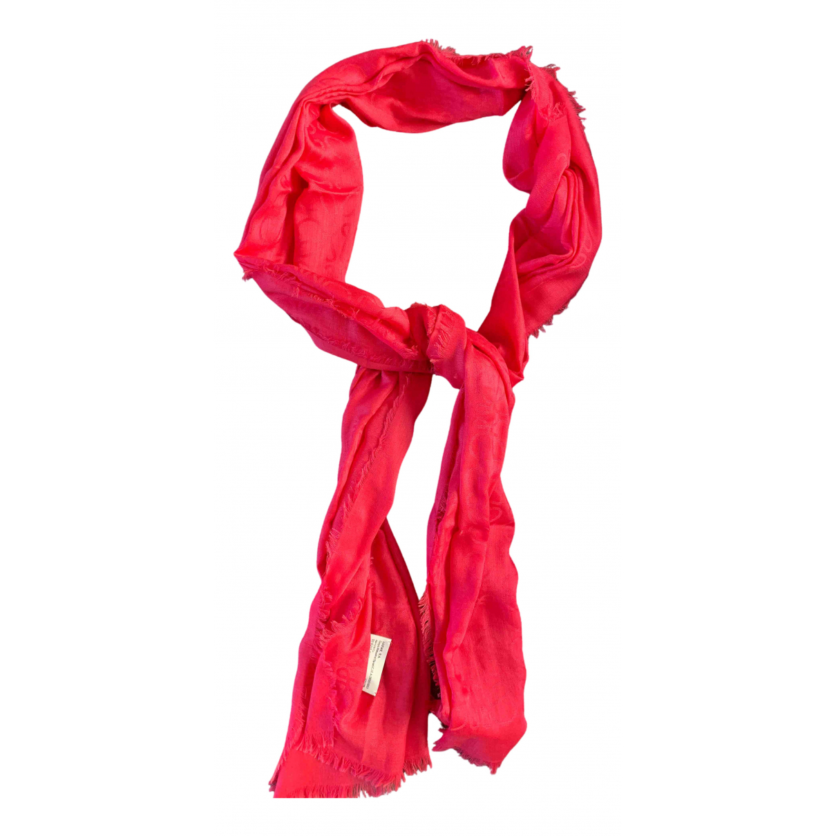 Loewe - Foulard   pour femme en cachemire - rose