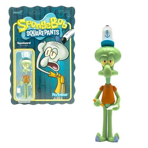SpongeBob SquarePants Squidward 3 3/4-Inch ReAction Figure