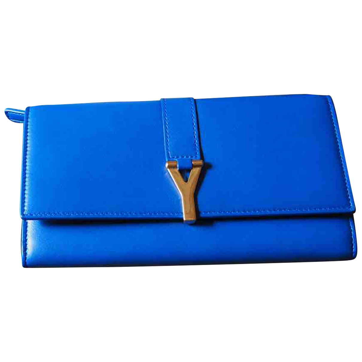 Cartera Chyc de Cuero Saint Laurent