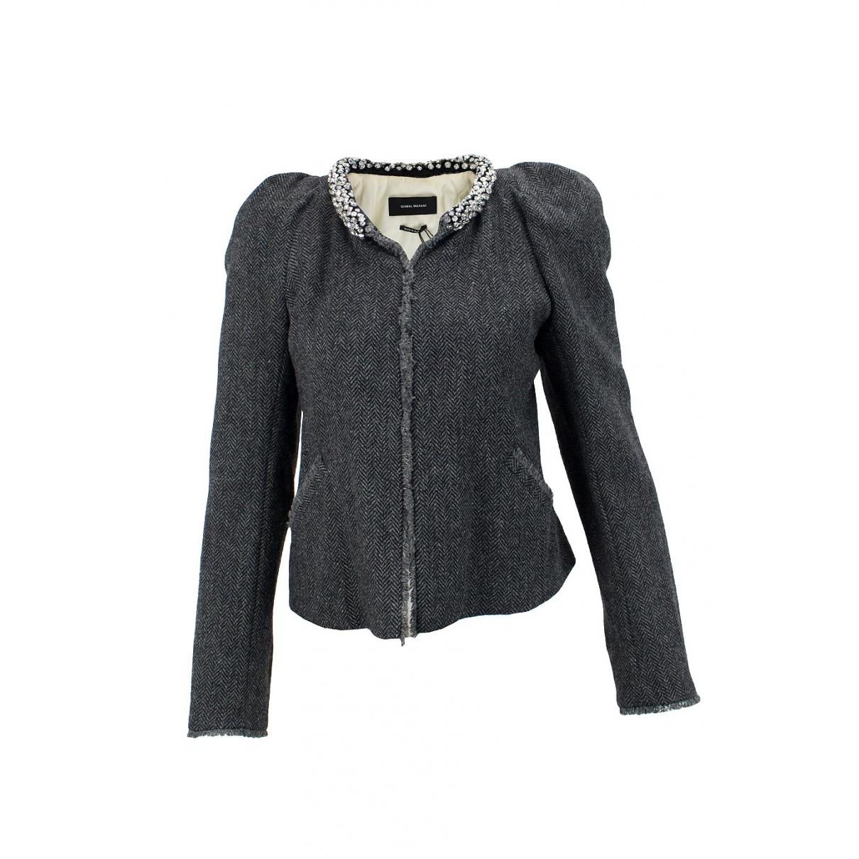 Isabel Marant \N Grey Wool jacket for Women 38 FR