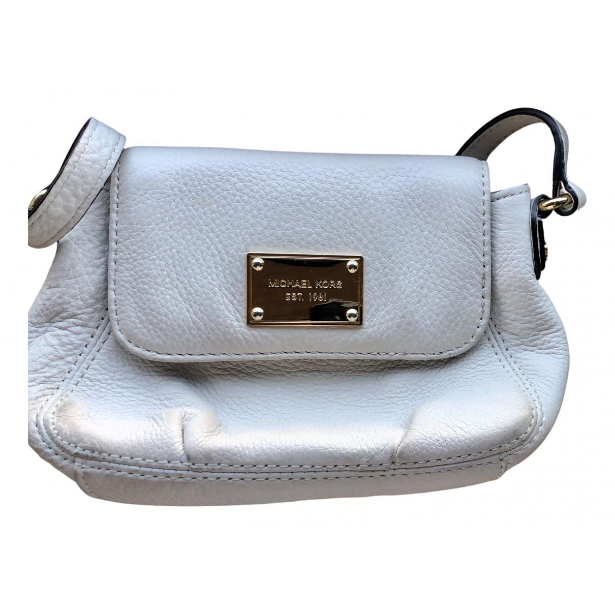 Michael Kors N Beige Leather Clutch bag for Women N
