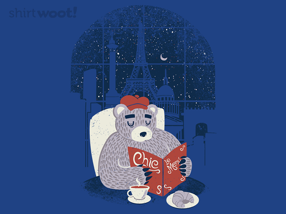Parisian Bear T Shirt