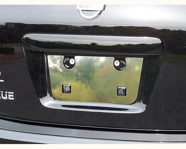 Quality Automotive Accessories 1-Piece License Plate Bezel Nissan Rogue 2010