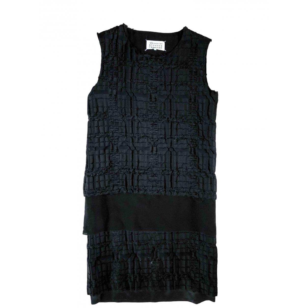 Maison Martin Margiela \N Black Cotton dress for Women 40 IT