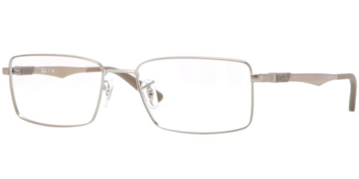 Ray-Ban RX6275 Active Lifestyle 2762 Men's Glasses Gold Size 52 - HSA/FSA Insurance - Blue Light Block Available