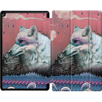 Amazon Fire HD 10 (2017) Tablet Smart Case - Lone Wolf von Mat Miller