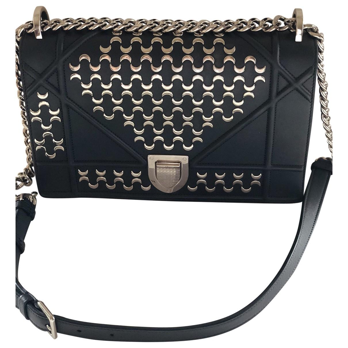 Dior Diorama Metallic Leather handbag for Women \N