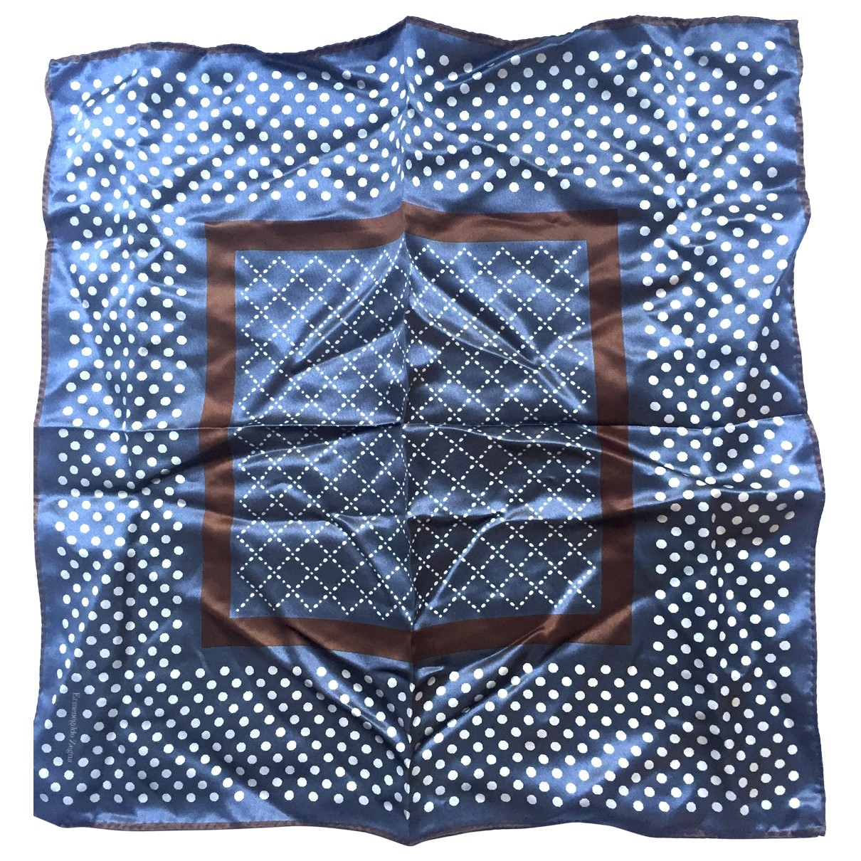 Pañuelo / bufanda de Seda Ermenegildo Zegna