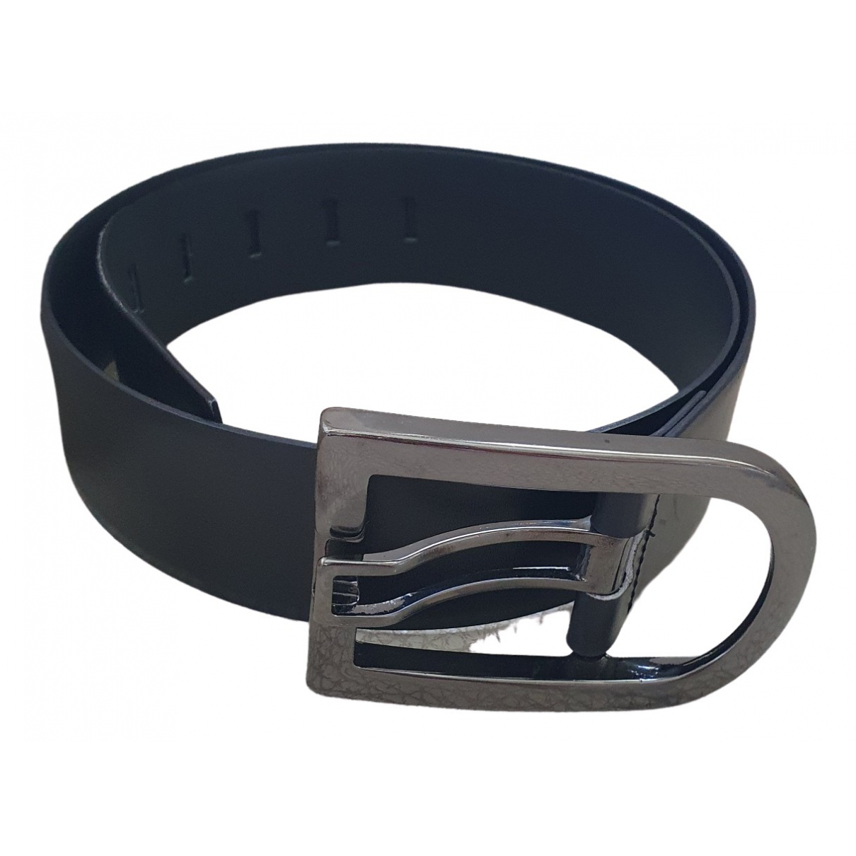 Marella \N Black Leather belt for Women S International