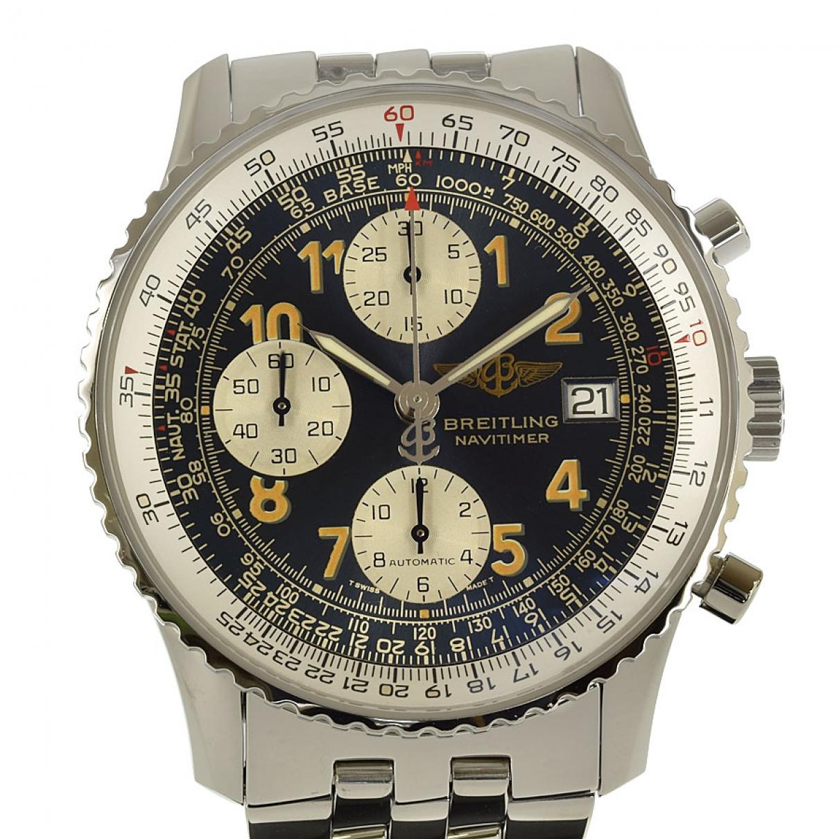 Breitling Navitimer Uhr in  Marine Stahl