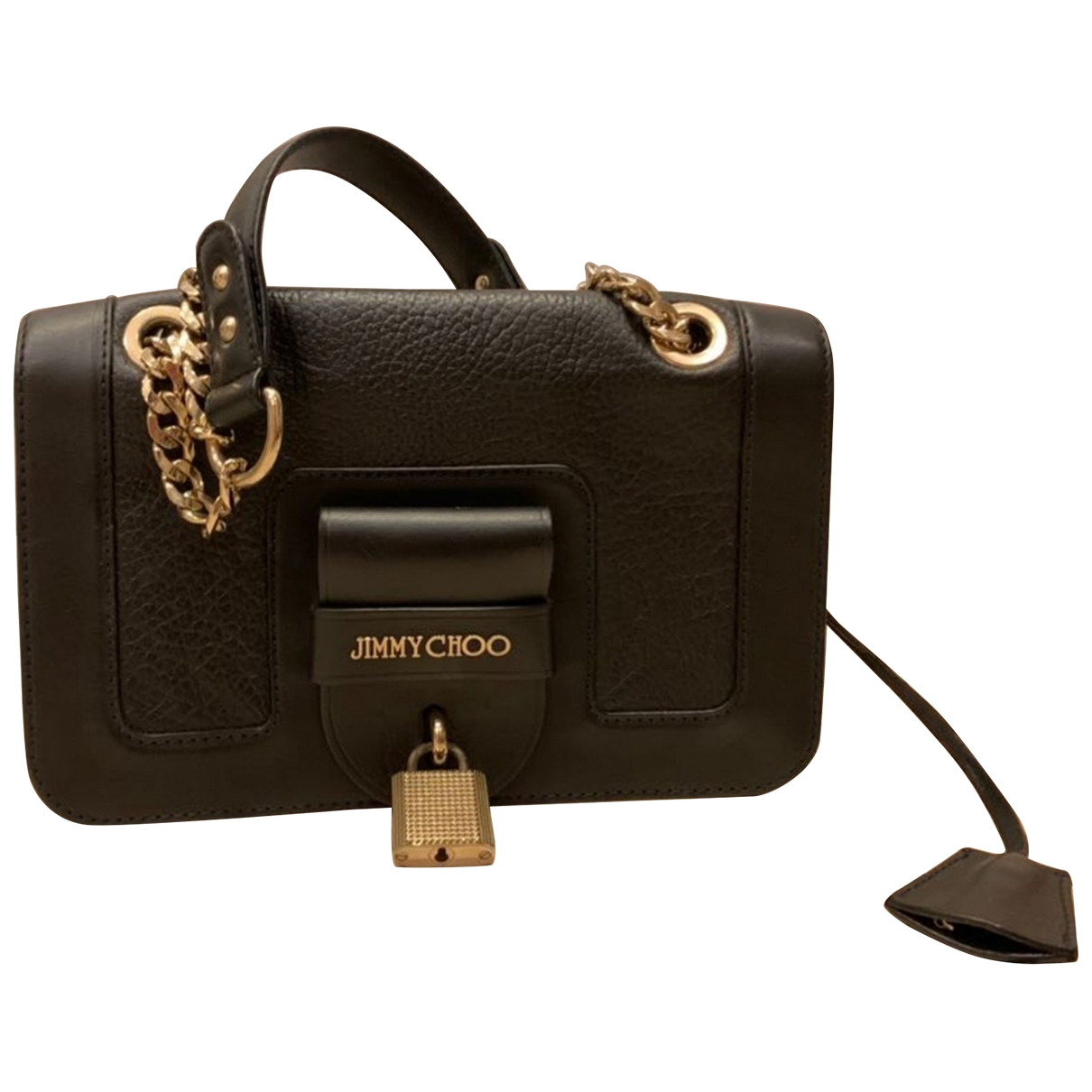 Jimmy Choo \N Black Leather handbag for Women \N