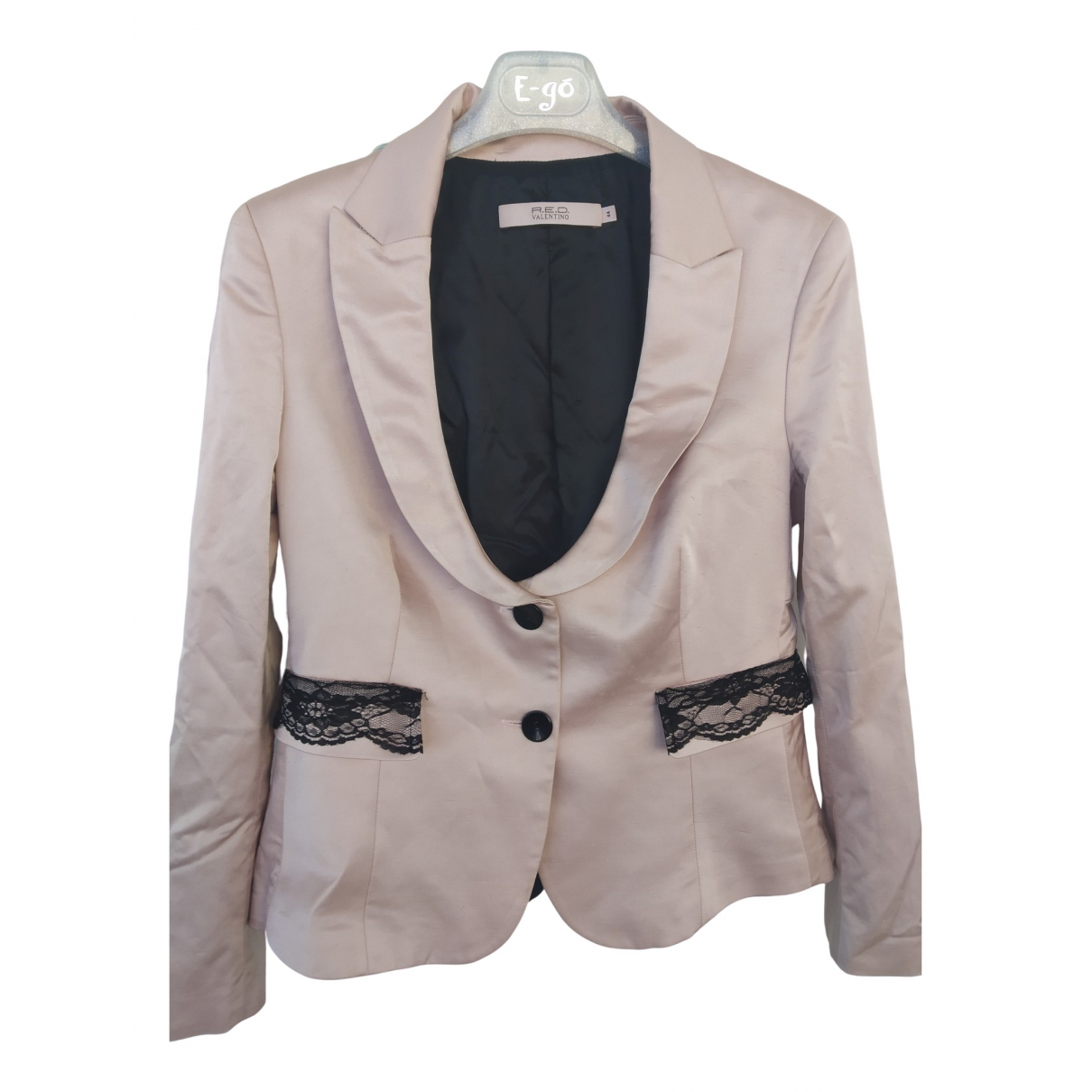Red Valentino Garavani - Veste   pour femme en soie - rose