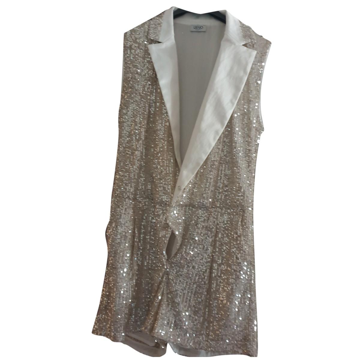 Liu.jo N Gold Glitter dress for Women 40 FR