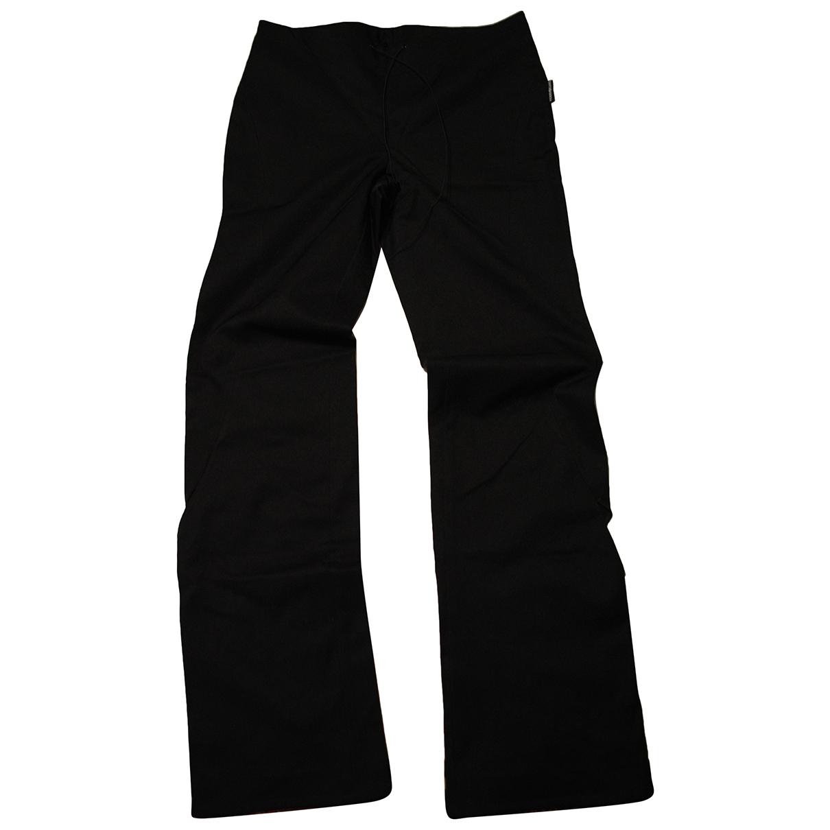 Pantalon en Sintetico Negro Gianfranco Ferre