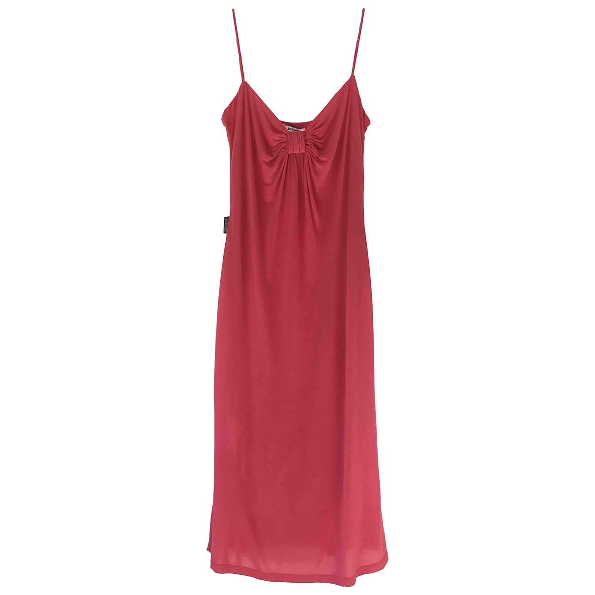 Moschino Love \N Kleid in  Rosa Viskose