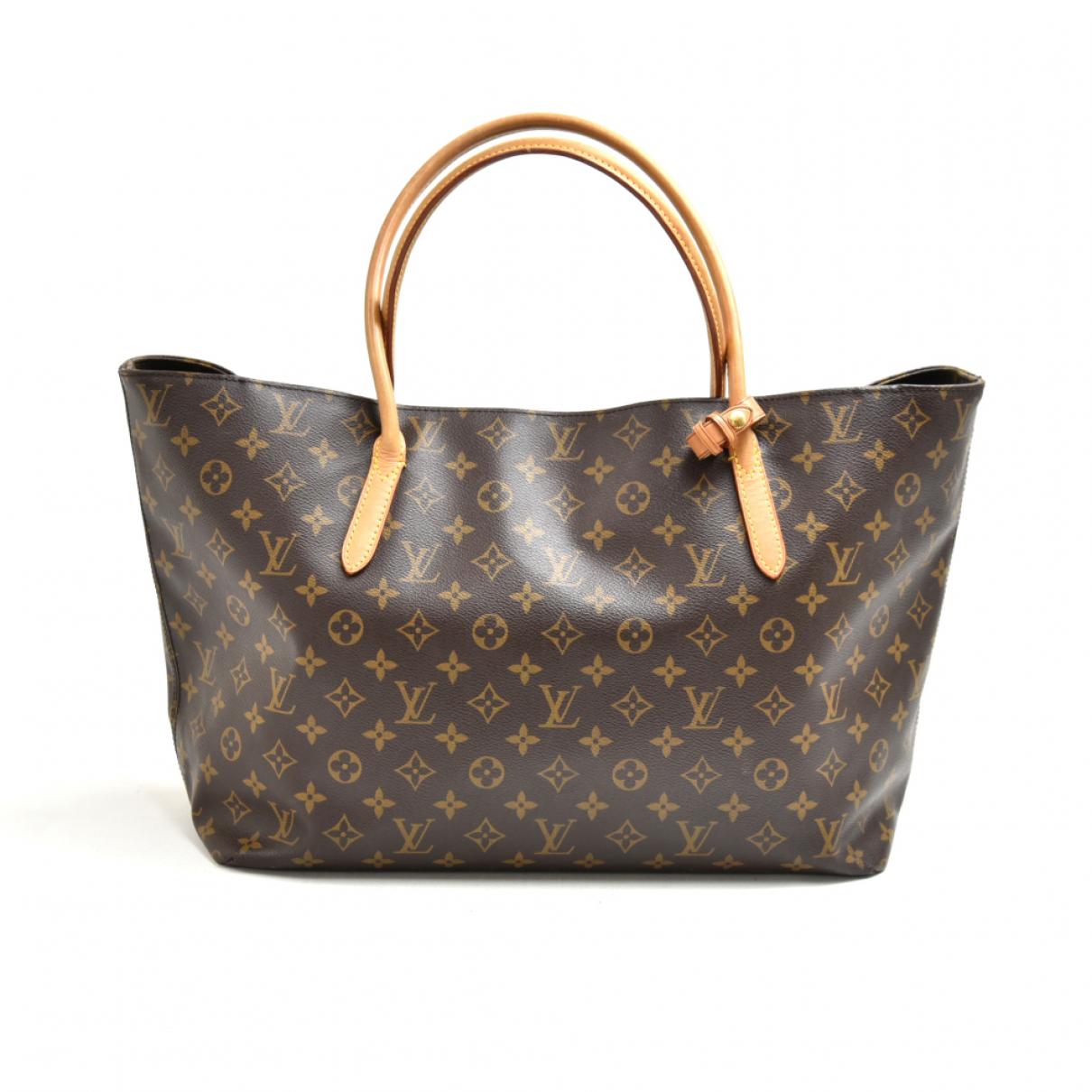Louis Vuitton Raspail Brown Cloth handbag for Women N