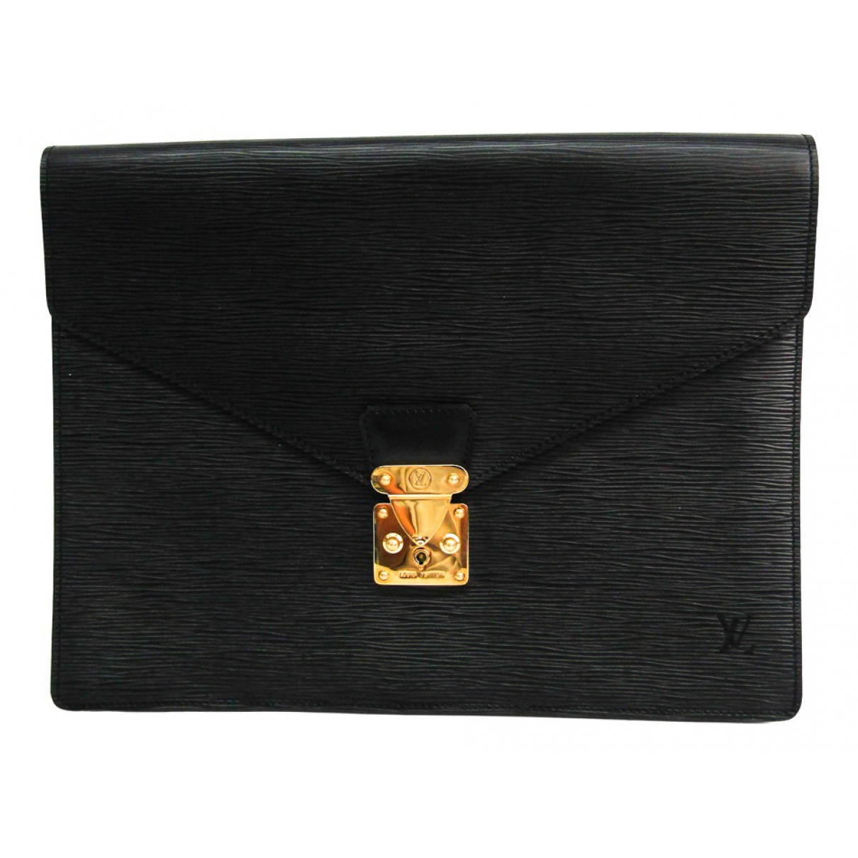 Louis Vuitton \N Black Leather Home decor for Life & Living \N