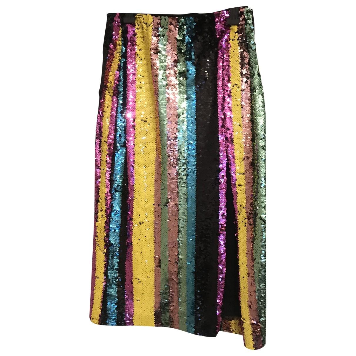 Zara \N Multicolour Glitter skirt for Women S International