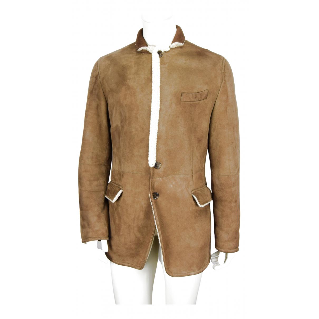 Dolce & Gabbana \N Maentel in  Braun Schaf