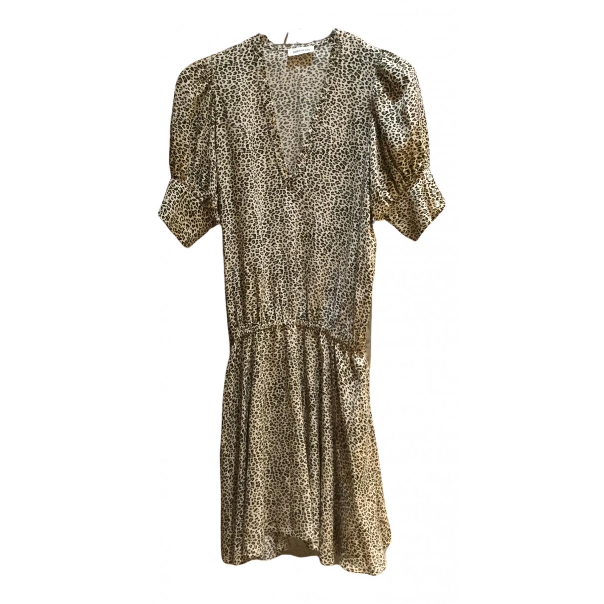Zadig & Voltaire \N Kleid in  Beige Viskose