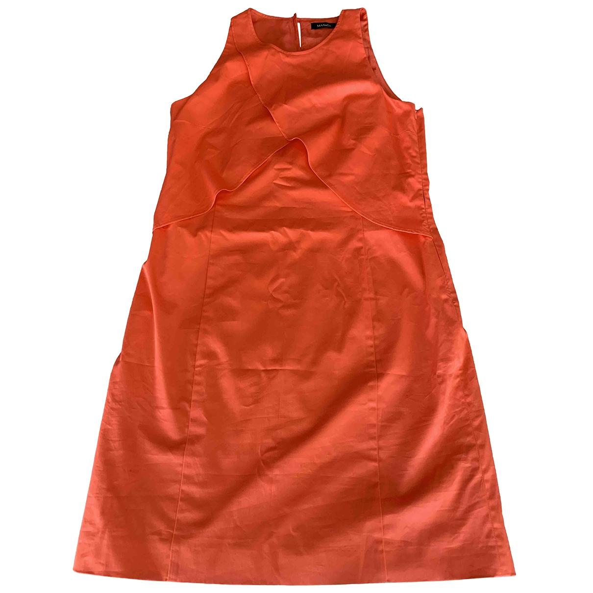 Max & Co - Robe   pour femme en coton - orange