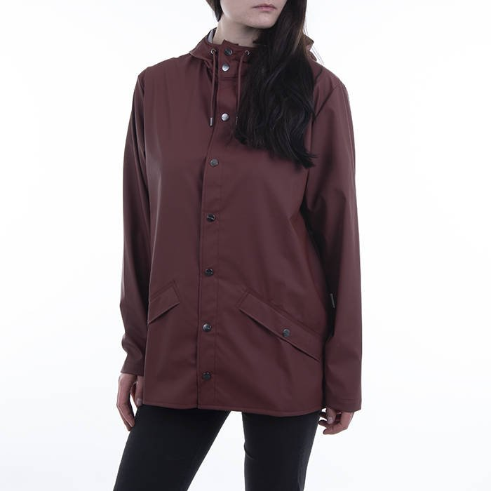 Rains Jacket 1201 MAROON