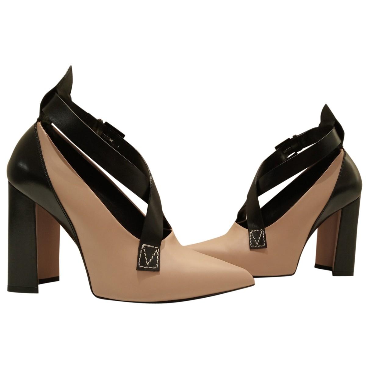 Louis Vuitton - Escarpins Matchmake pour femme en cuir