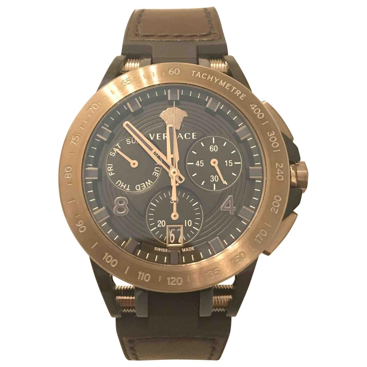 Versace \N Steel watch for Men \N