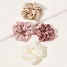 Simple Scrunchie 4pcs