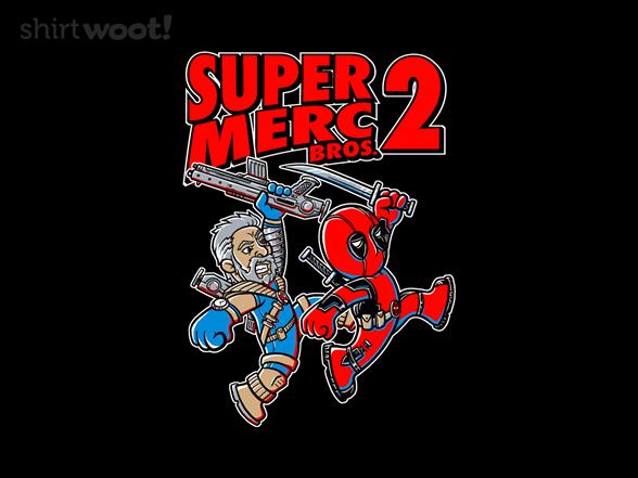 Super Merc Bros T Shirt