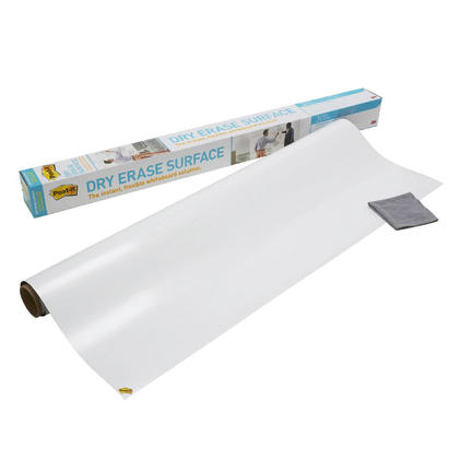 3M@ Post-it@ Super Sticky Dry Erase Surface - 48 x 36