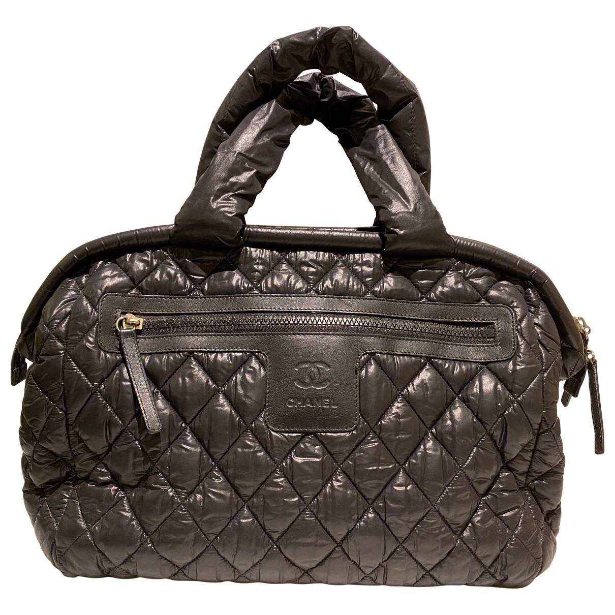 Chanel Coco Cocoon Handtasche in  Schwarz Synthetik