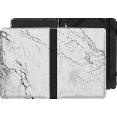 Pocketbook Touch Lux 2 eBook Reader Huelle - White Marble von caseable Designs