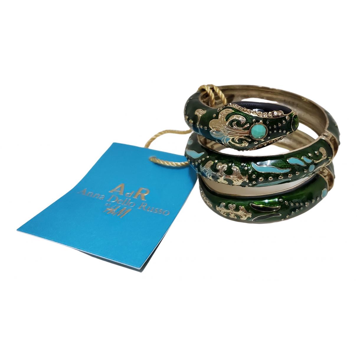 Anna Dello Russo Pour H&m N Green Metal bracelet for Women N