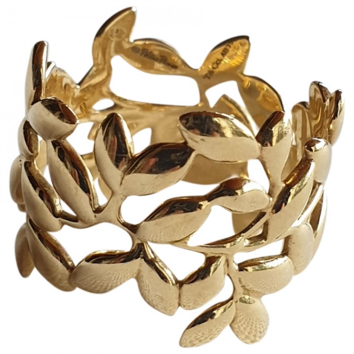 Tiffany & Co - Bague Paloma Picasso pour femme en or jaune - dore