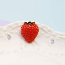 1 pieza broche de niños en forma de fresa