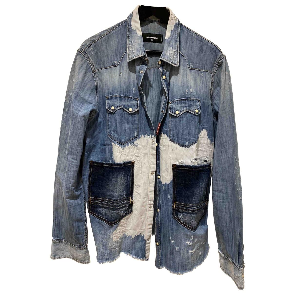 Dsquared2 \N Hemden in  Blau Denim - Jeans