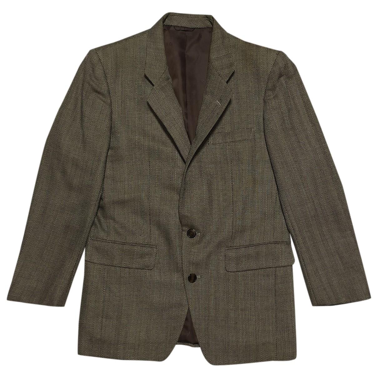 Dior - Manteau   pour homme en laine - marron