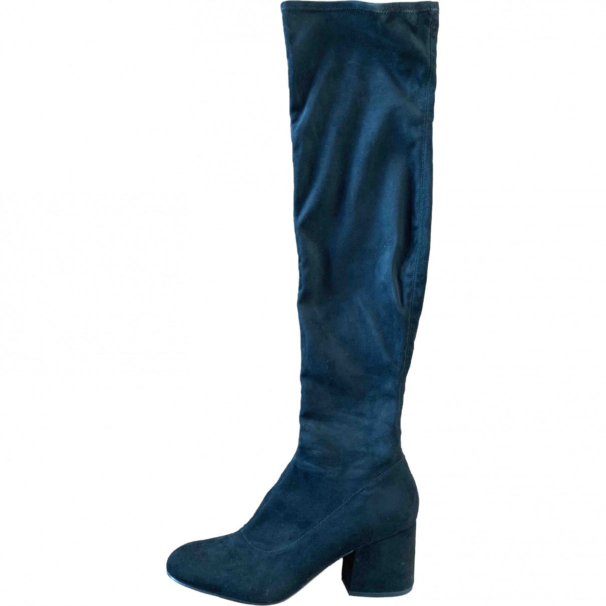 Kendall + Kylie \N Black Suede Boots for Women 9 US