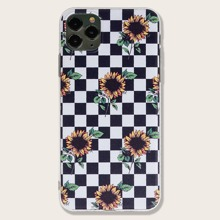 iPhone Schutzhuelle mit Karo Muster