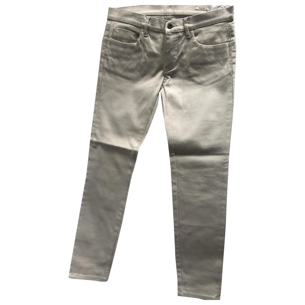 Pantalon en Denim - Vaquero Gris Miu Miu