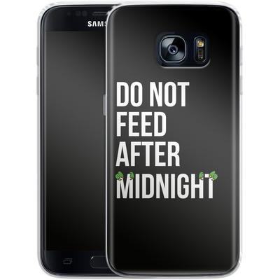Samsung Galaxy S7 Silikon Handyhuelle - After Midnight von caseable Designs