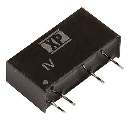 XP Power IV 1W Isolated DC-DC Converter Through Hole, Voltage in 43.2 → 52.8 V dc, Voltage out ±24V dc