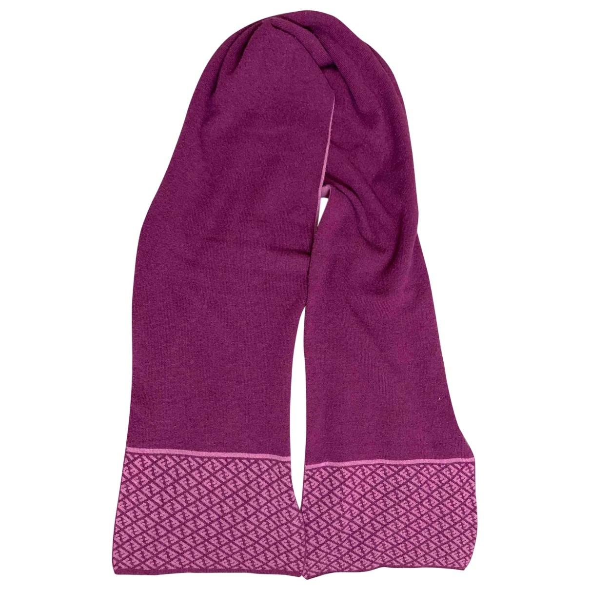 Fendi - Foulard   pour femme en laine - violet